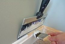DIY :: Painting / Tips for painting; choosing the right paint and making painting easier.