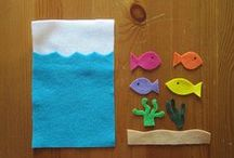 Crafts :: Busy Bags / Toddler and kid craft busy bags.