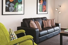 Living Colour / Simple ways to feature bold colours in your living room.
