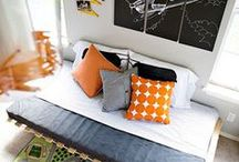 Decorate :: Kid Spaces / Bring life and color to bedrooms and playrooms for the kids.