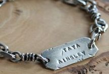 2 Sisters Handcrafted For Men / Personalized men's jewelry, hand stamped and handcrafted artisan jewelry for men. Masculine, rustic, everyday style.