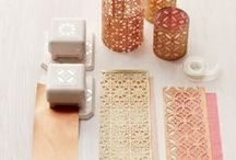 CRAFTING WITH PAPER PUNCHES / by Jeanine Brock
