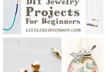DIY jewelry / DIY and tutorials with tips on wiring, making necklaces, beaded jewelry, and many different ways to make earrings, bracelets, necklaces, wrap wire on or around items