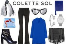 Colette Sol HTW FW15/16 / How to match our collection with fashion trends in 2015/16