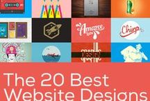 Website designs / Designs, tips, tutorials, and styles of websites, layouts, color inspiration pallette, tools to create websites that stayed out,