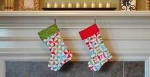 So Want to Sew - Christmas Stockings
