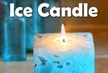 Enhancing roomy crafts / DIY,  tips, tutorials and creating candles making wicks handmade candle holders