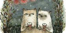 Debilidad por los gatos / amor gatuno