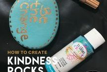 Kindness Rocks / Kindness rocks! So spread it around with these easy, DIY ideas to create your own kindness rocks. With Testors Paint Markers you can add an uplifting message or an inspirational quote that is sure to bring sunshine to someone's day! Learn more at testors.com. #kindnessrocks