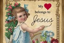 Jesus is my Saviour / Jesus is my Savior, my confident, my Protecter, my best friend, and the most important love of my life !!!  He has given me Everlasting Life and He Lives ...I await His return to take me to my everlasting home !!  / by Pat Thomas ~ My Vintage Dream
