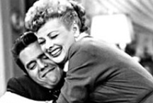 Lucy & Desi / I really love ..I love Lucy ! Although Lucy and Ricky divorced and they both remarried other people I believe they Loved each other for the rest of there lives.  / by Pat Thomas ~ My Vintage Dream