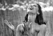 Raindrops Keep Falling On My Head / by Pat Thomas ~ My Vintage Dream