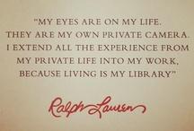 Ralph Lauren / by ... EVY...