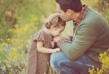 A Fathers Joy  / A good Father is one who loves his children unconditionally . Happy Fathers Day to all the loving Fathers who have been Blessed by their children !! / by Pat Thomas ~ My Vintage Dream
