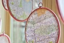 Decor: Maps & Globes