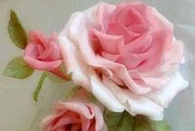 For My Love of Roses / If you hadn't already noticed ... I love roses especially pink ones ! They are such a glamorous and great smelling Flower ...and are perfect for all kinds of decor and fashion !! my  absolute  favorite !!!  / by Pat Thomas ~ My Vintage Dream
