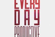 Productivity & Organization | Productividad & Organización / Productivity & Organization | Productividad & Organización