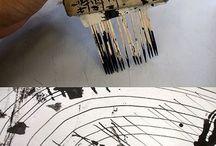 Art Techniques | Técnicas de Arte / Drawing, Painting & other Art Techniques. Técnicas de Dibujo, Pintura y otros medios del Arte.