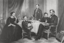 Lincolns and Civil War / Abraham Lincoln also know as the Emancipator , Mary Todd  and their family history... and the civil war that freed the slaves .  / by Pat Thomas ~ My Vintage Dream