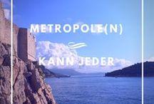 Metropole Kann Jeder! / Berlin, New York, Barcelona, Rom... Alle wollen immer in die Metropolen dieser Welt reisen. Doch gibt es auch so wahnsinnig viele, kleiner - doch sehenswerte - Städte, Städtchen und Orte auf dieser Welt. #MetropoleKannJeder zeigt genau diese versteckten Orte. Diese besoderen Geheimtipps auf der Welt!