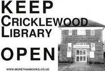 Cricklewood Library Campaign History / Pictorial record of fight to restore Cricklewood Library in North West London. Library will open in 2016, on the ground floor of a mixed development on the site of the old library.