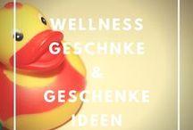 Wellness Geschenk / Wellness Geschenkeideen / Was kann ich schenken? Geschenkideen mit Wellnessfaktor von den Wellness Experten.