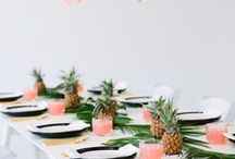 PARTY | amazing ideas and decor / Party ideas for special events. A birthday party, anniversary party, themed party, engagement party, or any celebration which gives you a reason to grow a fun party.   This board is full of colorful party decorations, party theme ideas, invites and clever tips.