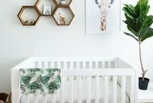HOME | nursery / Beautiful ideas for your dream nursery. Cute and colorful ideas for the walls, art and adorable gifts!