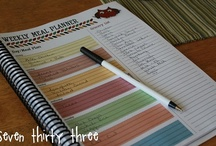 Organized: Menu & Shopping List