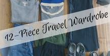Travel Wardrobe - France / Planning and executing a travel wardrobe that will fit in a carry on and take me anywhere.
