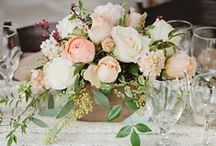 Centerpieces / Wedding centerpieces that inspire brides when deciding on wedding flowers. / by BloomsByTheBox.com