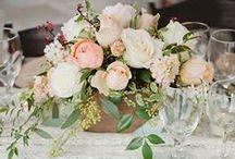 DIY Centerpieces / Wedding centerpieces that inspire brides when deciding on wedding flowers.