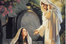 """Easter  / """"He is not here: for he is risen, as he said. Come, see the place where the Lord lay"""" ~ Matthew 28:6  / by Kelly Blizzard"""