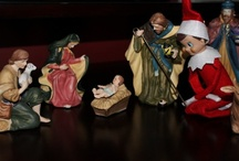 Elf on a Shelf  / A collection of mischievous Elf on a Shelf ideas to entertain your children and grandchildren.  / by Kelly Blizzard