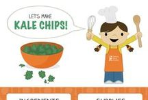 Recipes for Ages 4-7 / Kids Cook Monday recipes to make with little chefs ages 4-7.