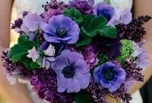 Purple Wedding Flowers / by BloomsByTheBox.com