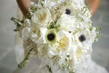 White Wedding Flowers / by BloomsByTheBox.com