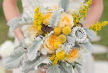 Yellow Wedding Flowers / by BloomsByTheBox.com
