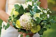 Green Wedding Flowers / by BloomsByTheBox.com