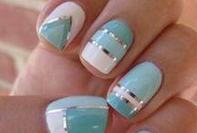 fancy finger nails