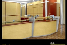 Reception Areas by Rieke Office / Set the right first impression with Rieke Office Interiors.
