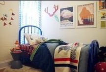 Kids' Whimsical Frontier Room / The room I designed for son + daughter. Featured on Apartment Therapy! http://www.apartmenttherapy.com/ats-whimsical-frontier-my-room-207181