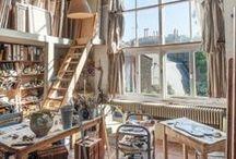 Inspiring studios / creative spaces