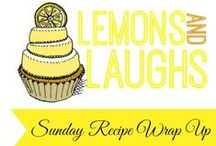 Sunday Recipe Wrap Up / Come link up Sundays at 6am! All recipes get pinned :)