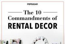 Post Grad Apartment / So I won't be stuck staring at white walls, ugly cheap blinds, and nasty floors