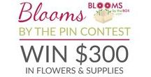 #BloomsByThePinContest2018 / The official Pinterest board of the #BloomsByThePinContest2018     Make sure to follow @BloomsByTheBox, this board and PIN the official contest pin as well as 5 items from this board for valid entry. Read full rules at http://bit.ly/BloomsByThePinContest2018