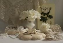 Cream/White / by Deborah Nanney