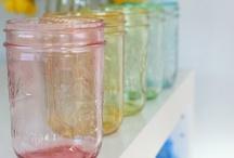 Mason jars / by Jessica Petty