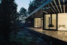 mökki (cabin) : exteriors