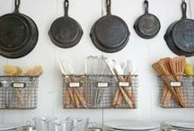 Kitchen & Pantry / Décor ideas and inspiration for the kitchen and pantry.